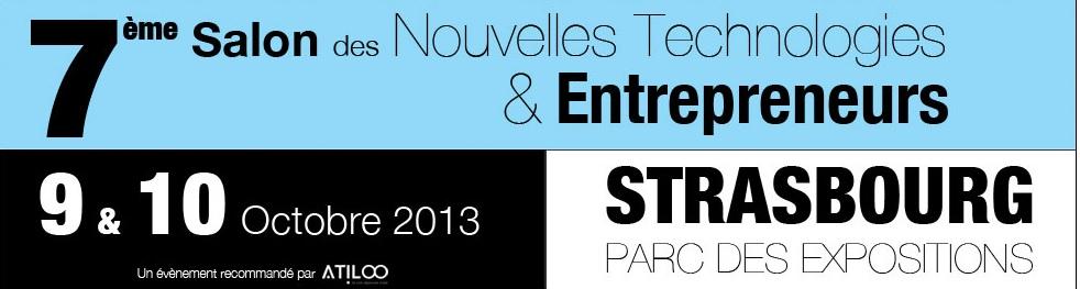 Le 7 me salon des nouvelles technologies entrepreneurs for Salon des nouvelles technologies