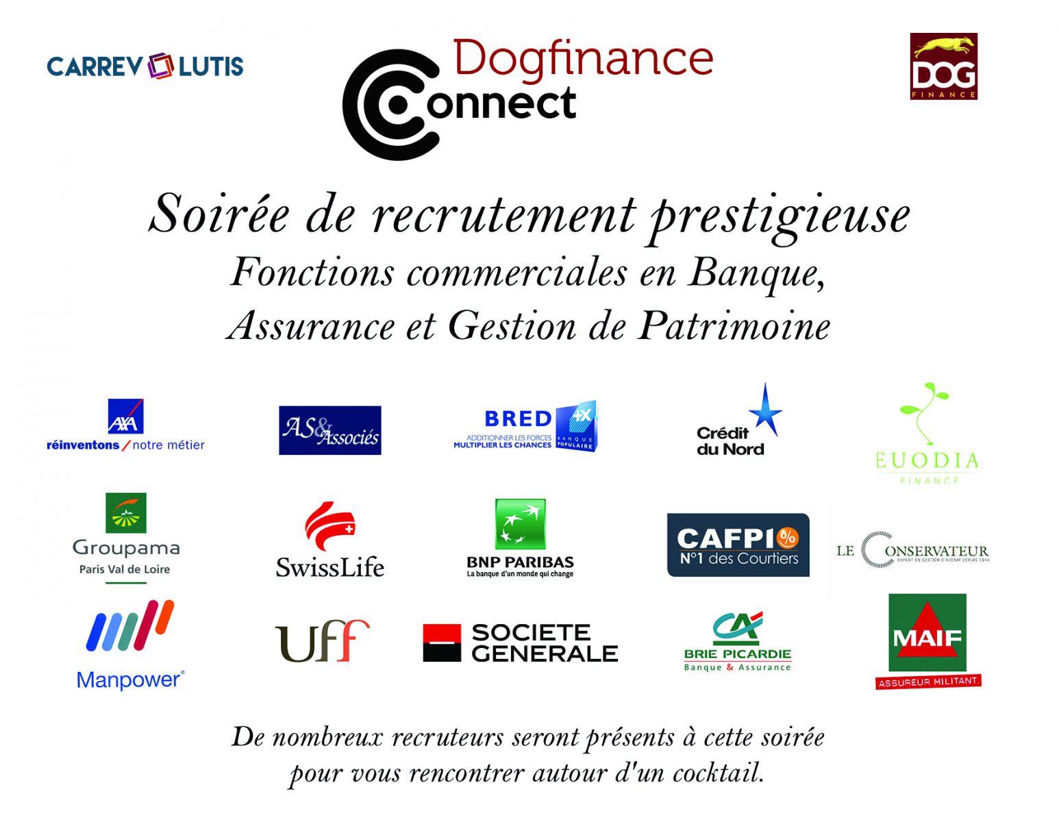 soir 233 e dogfinance connect sp 233 ciale fonctions commerciales en banque assurance et gestion de