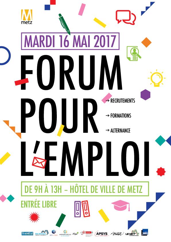 Forum pour l 39 emploi metz for Formation salon de provence
