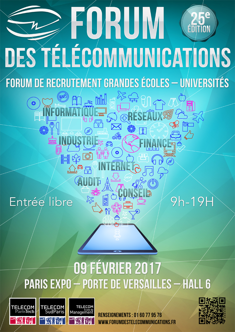25 u00e8me  u00e9dition du forum des t u00e9l u00e9communications